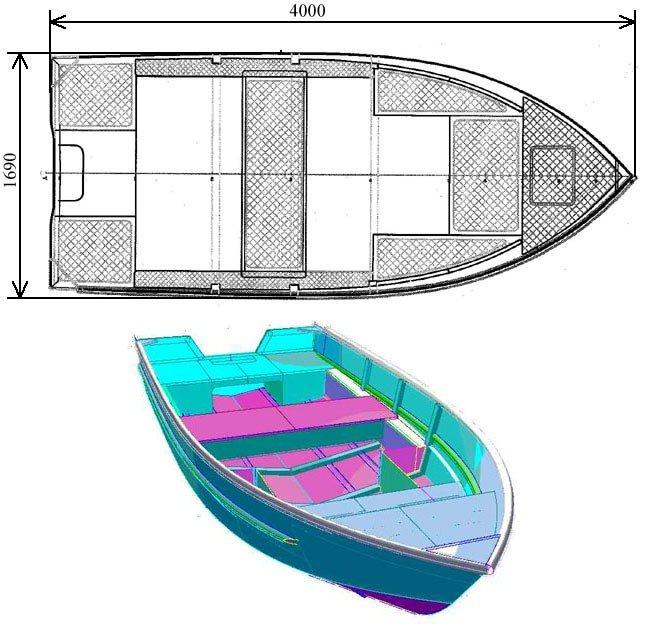 Конструкции лодок для рыбалки